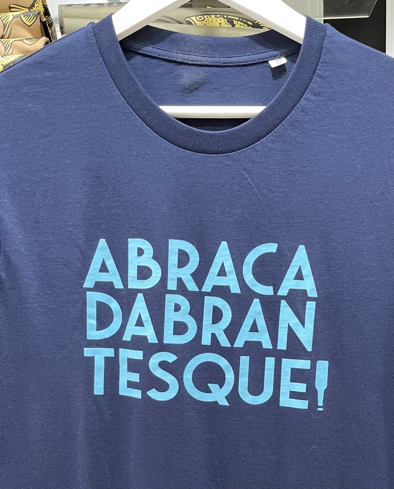 Image of T-shirt ABRACADABRANTESQUE Bleu Marine