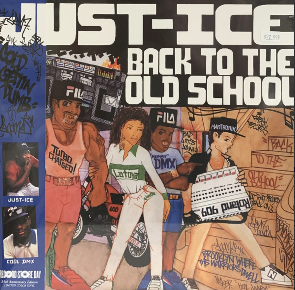Image of Just-Ice - Back To The Old School