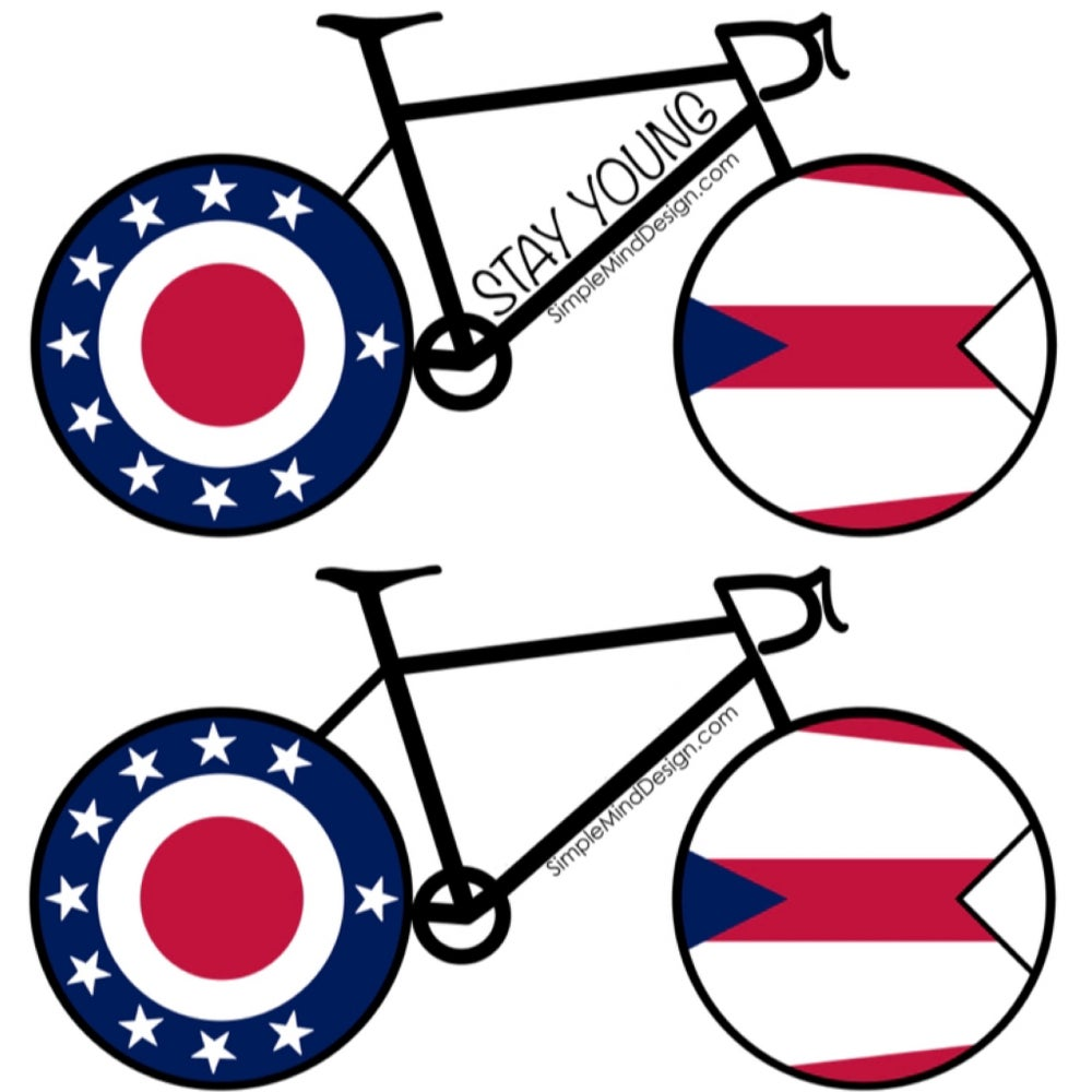 Image of Ohio Road Bike Sticker