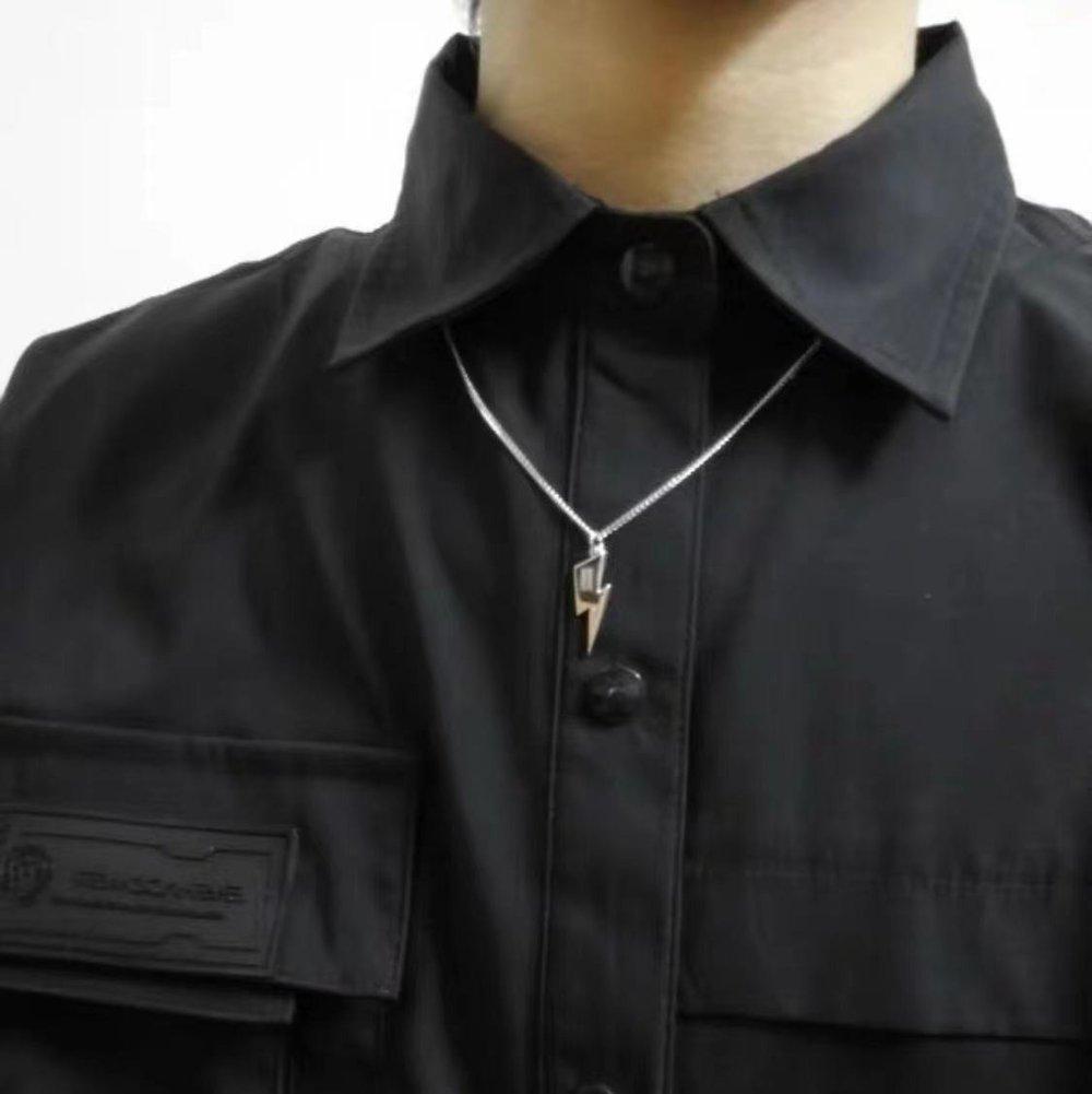 'Rebel Rebel' Lightning Bolt Necklace