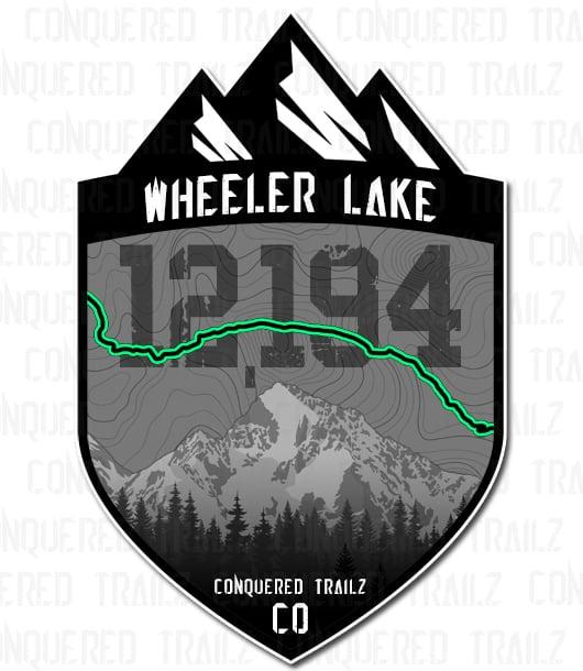 """Image of """"Wheeler Lake"""" Trail Badge"""