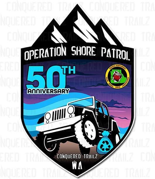 Image of PNW4WDA 50th Annual Shore Patrol - Event Badge