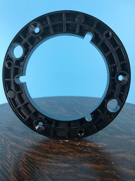 """Image of Burlington Recording 1/4"""" NAB Hubs for 1/4"""" Metal Reels Black (50 Pack)"""