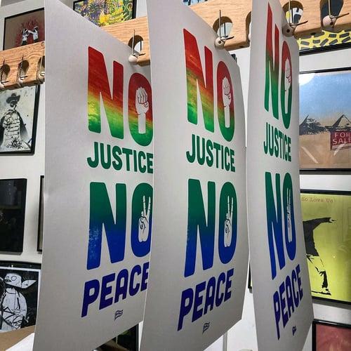 Image of No Justice No Peace Print