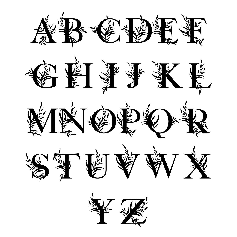 Image of PRE ORDER: Arch Monogram Ornament