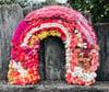 Woven Rainbow Pink Delight