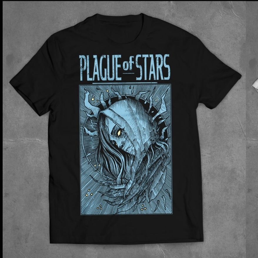"Image of Plague of Stars ""Evil Eye"" Blue"
