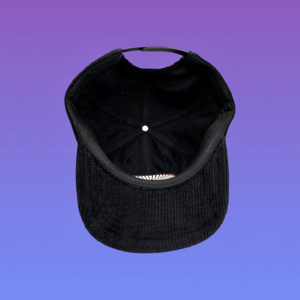 Image of NEW Cats Corduroy Snapback Hat! - Pre-Order