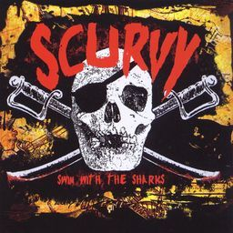 "Image of Scurvy ""Swim With The Sharks"" CD ep"