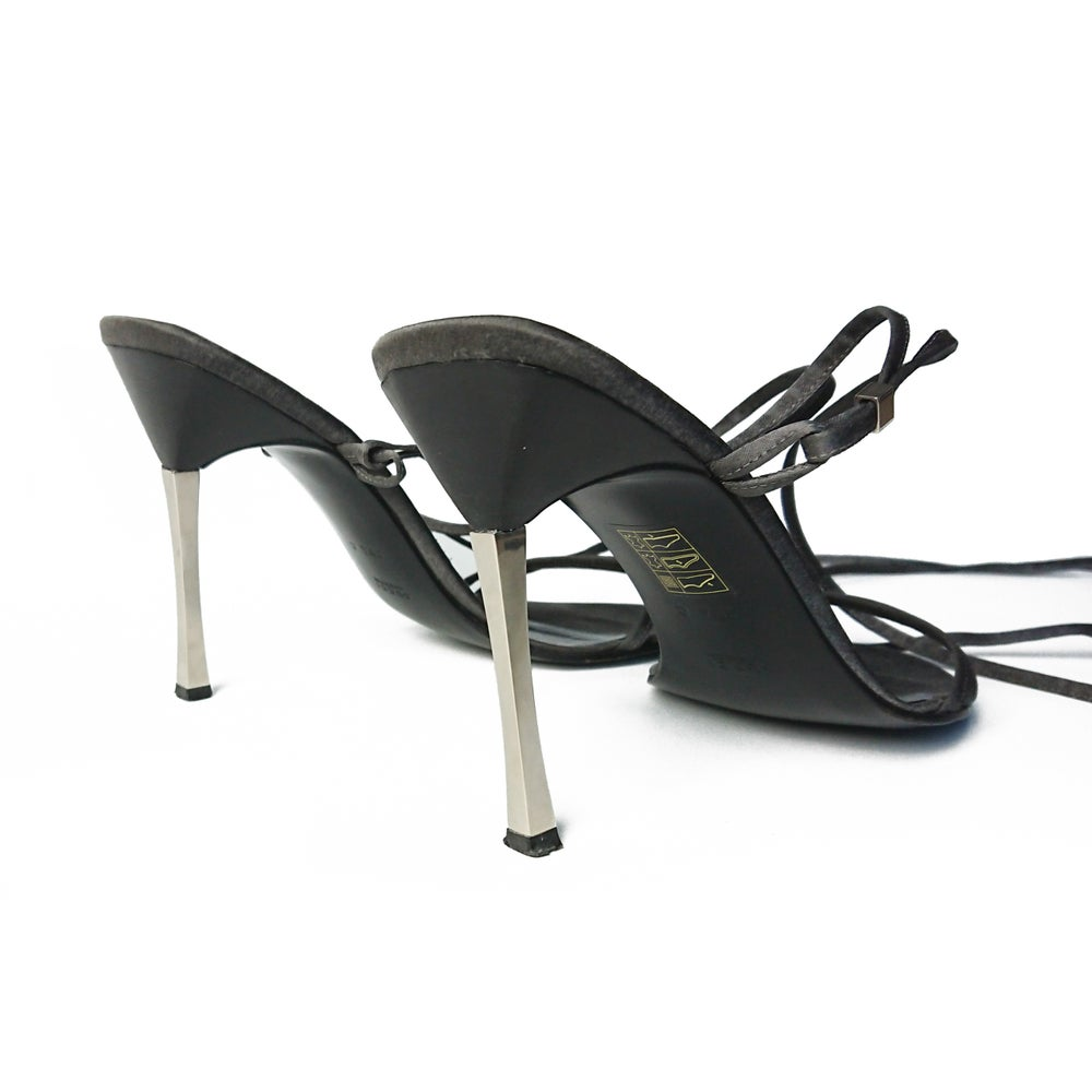 Image of Gucci by Tom Ford 1997 Satin High Heels