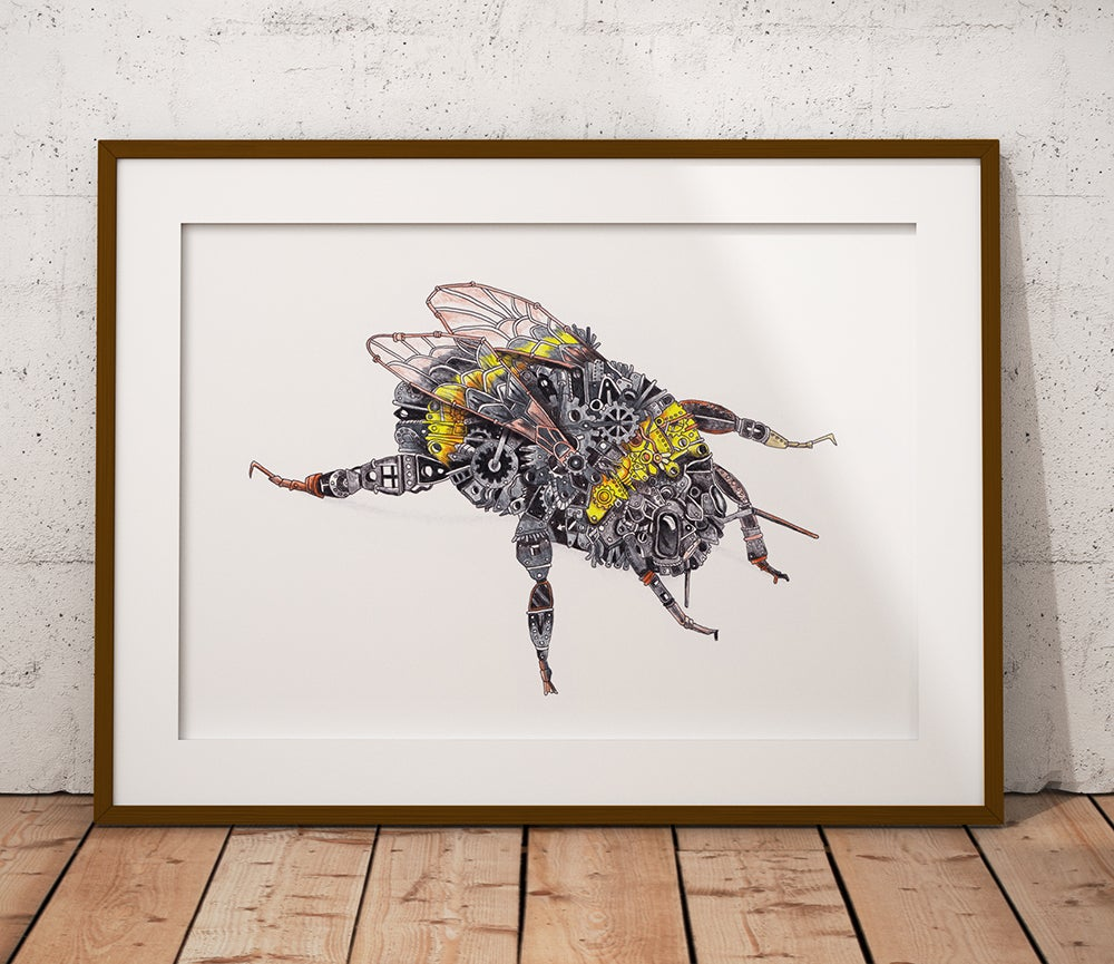 Image of The Steampunk Bumblebee