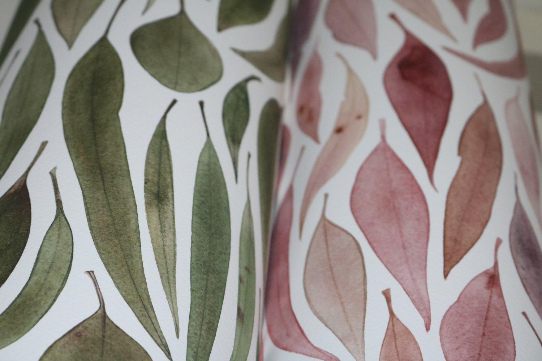 Image of Eucalyptus Leaves Green (Landscape Orientation) Fine Art Print