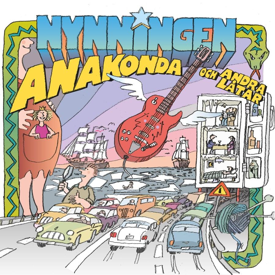 Image of Nynningen - Anakonda och andra låtar - LP
