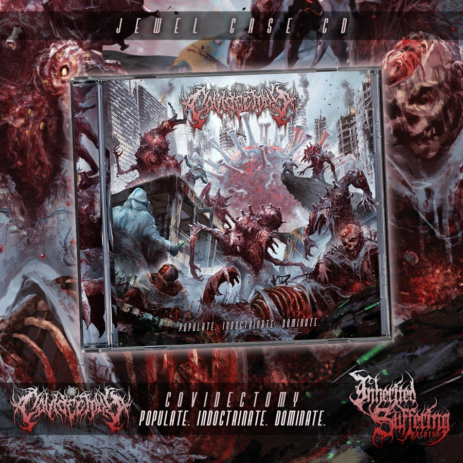 Image of Covidectomy - Populate. Indoctrinate. Dominate. - Jewel Case CD