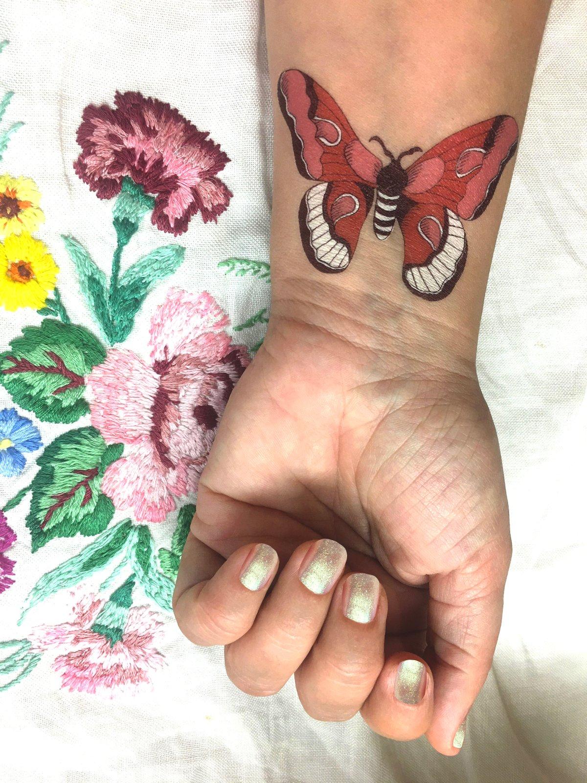 **NEW** A5 Flora and Fauna Temporary Tattoos