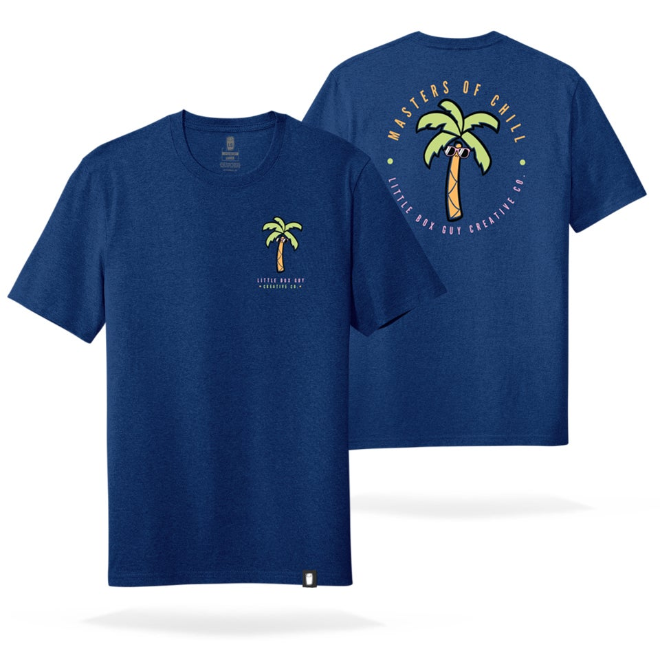 Image of Palm Tree 'Masters of Chill' tee