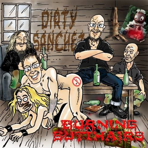 Image of Burning Butthairs - dirty sanchez