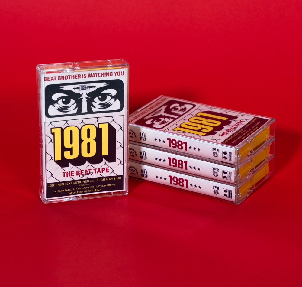 """Image of """"1981""""  The beat tape By: LORD HIGH EXECUTIONER a.k.a HIGH GAMBINO."""