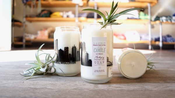 Image of Skyline Candles by Makery Maven Co.