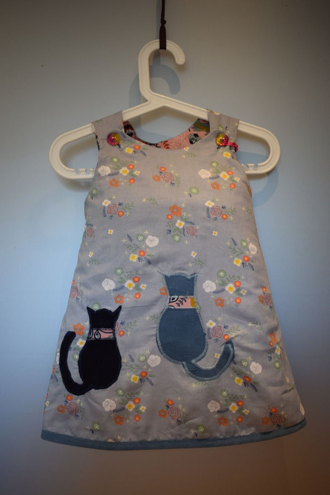 Image of The Every Day Reversible Dress - Cats