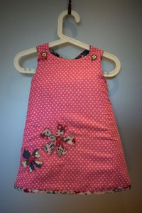 Image of The Every Day Reversible Dress - Pink spot