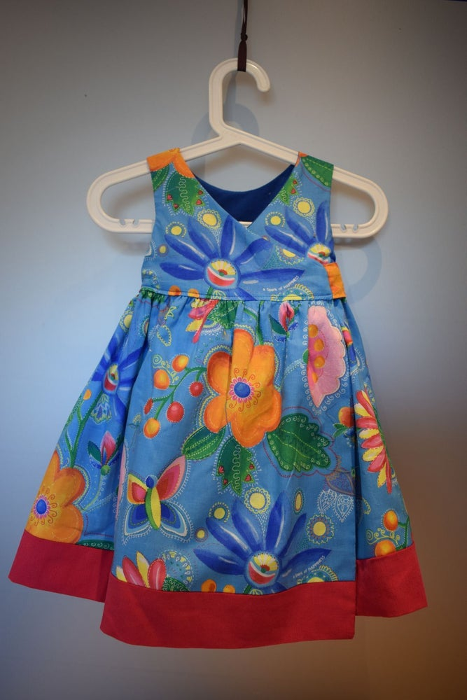 Image of The Anyway Reversible Dress - Big Flowers