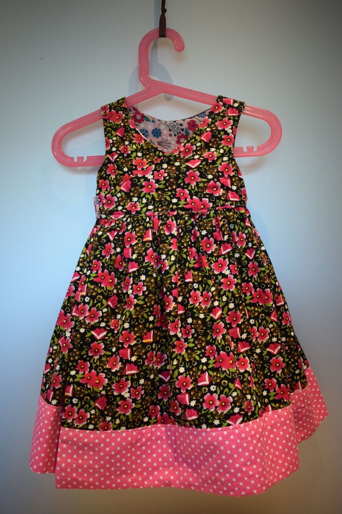 Image of The Anyway Reversible Dress - tulips