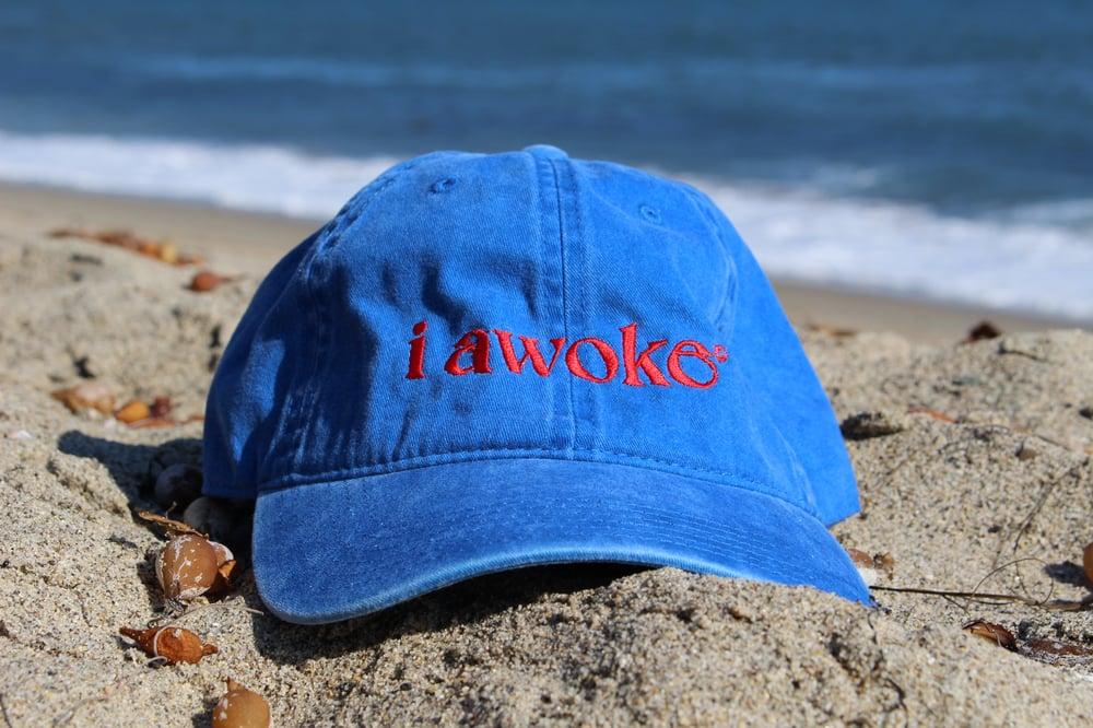 Image of I Awoke P'ook Hat Blue
