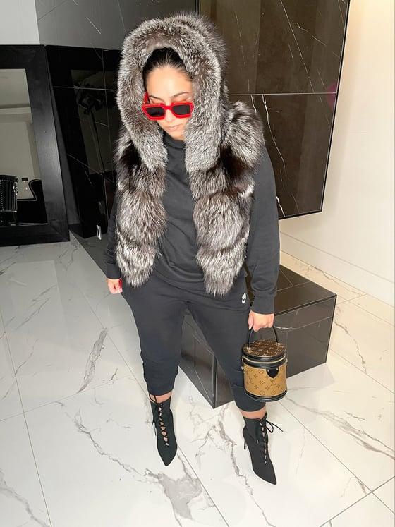 Image of Tyra Fur Vest