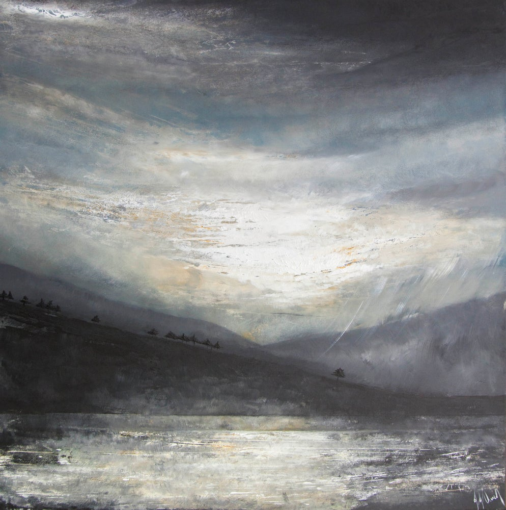 Image of Dovestone reservoir large limited print