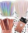 Paper Straws - Choose your colour