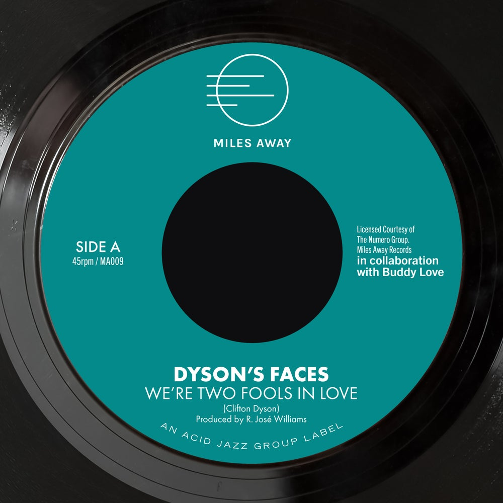 """Image of Dyson's Faces - We're Two Fools In Love / Don't Worry About The Jones 7"""""""