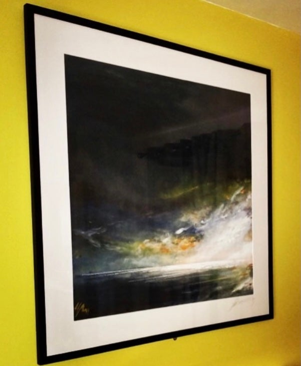 Image of Soaked To The Skin Giclée Limited Print
