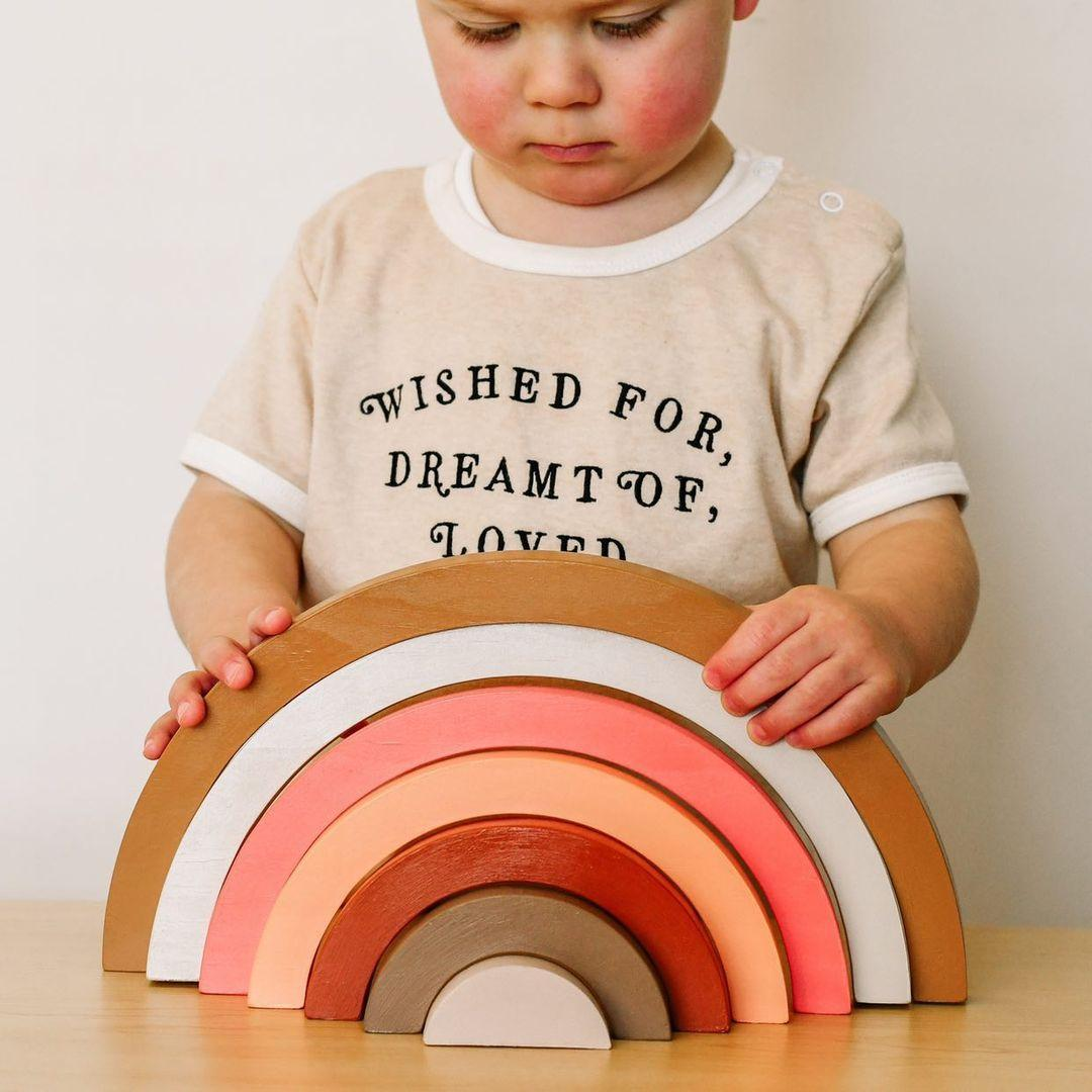 Image of Extra Large Wooden Rainbows