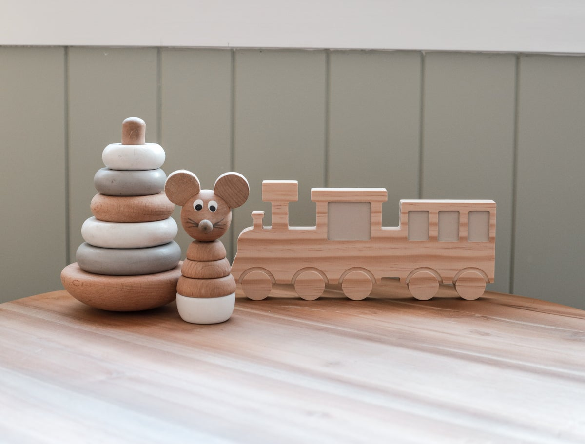 Image of Wooden Train