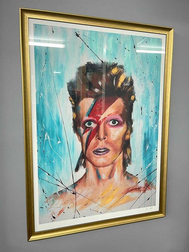 David Bowie Aladdin Sane - Limited Edition Print