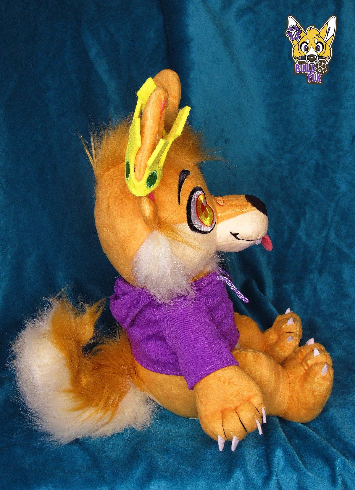 Image of Whiskey Dingo Plush Collectible Preorder