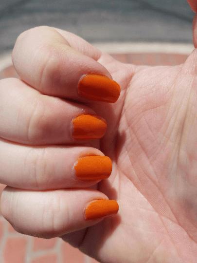 Pumpkin Patch Nail Polish