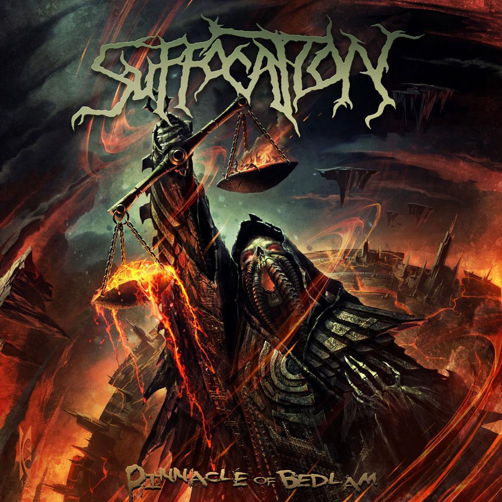 Image of Suffocation - Pinnacle of Bedlam