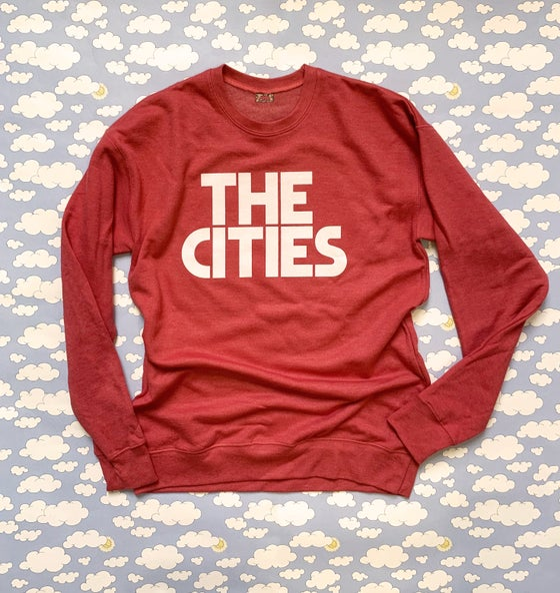 Image of The Cities Unisex Sweatshirt