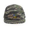 Have A Nice Day 5 Panel Cap - Camo