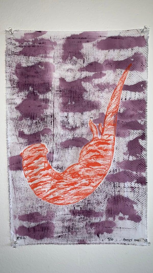 Image of Antics in Orange and Purple 4/10