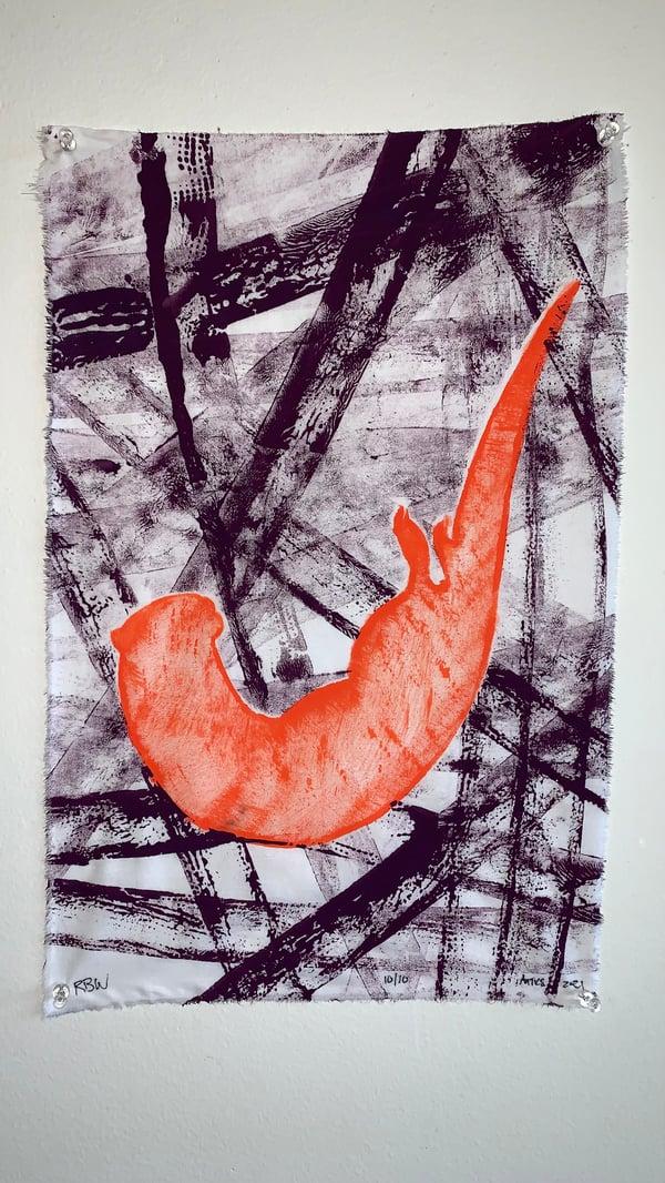 Image of Antics in Orange and Purple 10/10