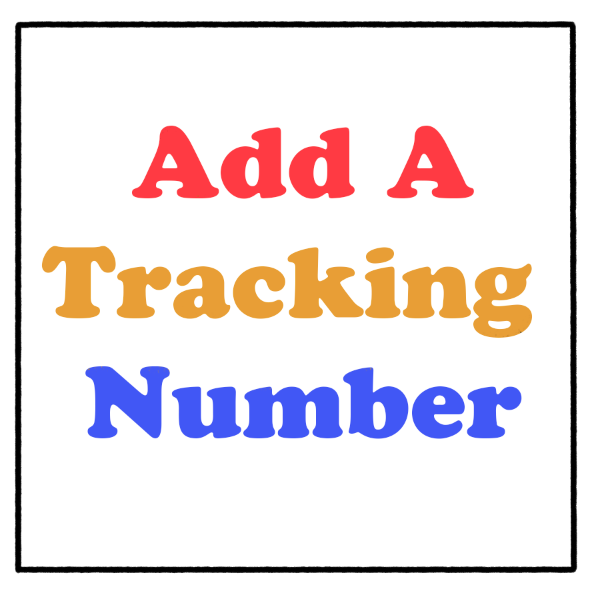 Image of Add a Shipping Tracking Number (FOR US ONLY)
