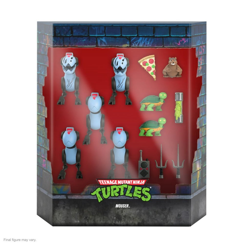 Image of TMNT Ultimates Mousers 5-Pack 7-Inch Scale Action Figures