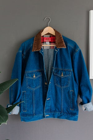 Image of Vintage Marlboro Denim Jacket