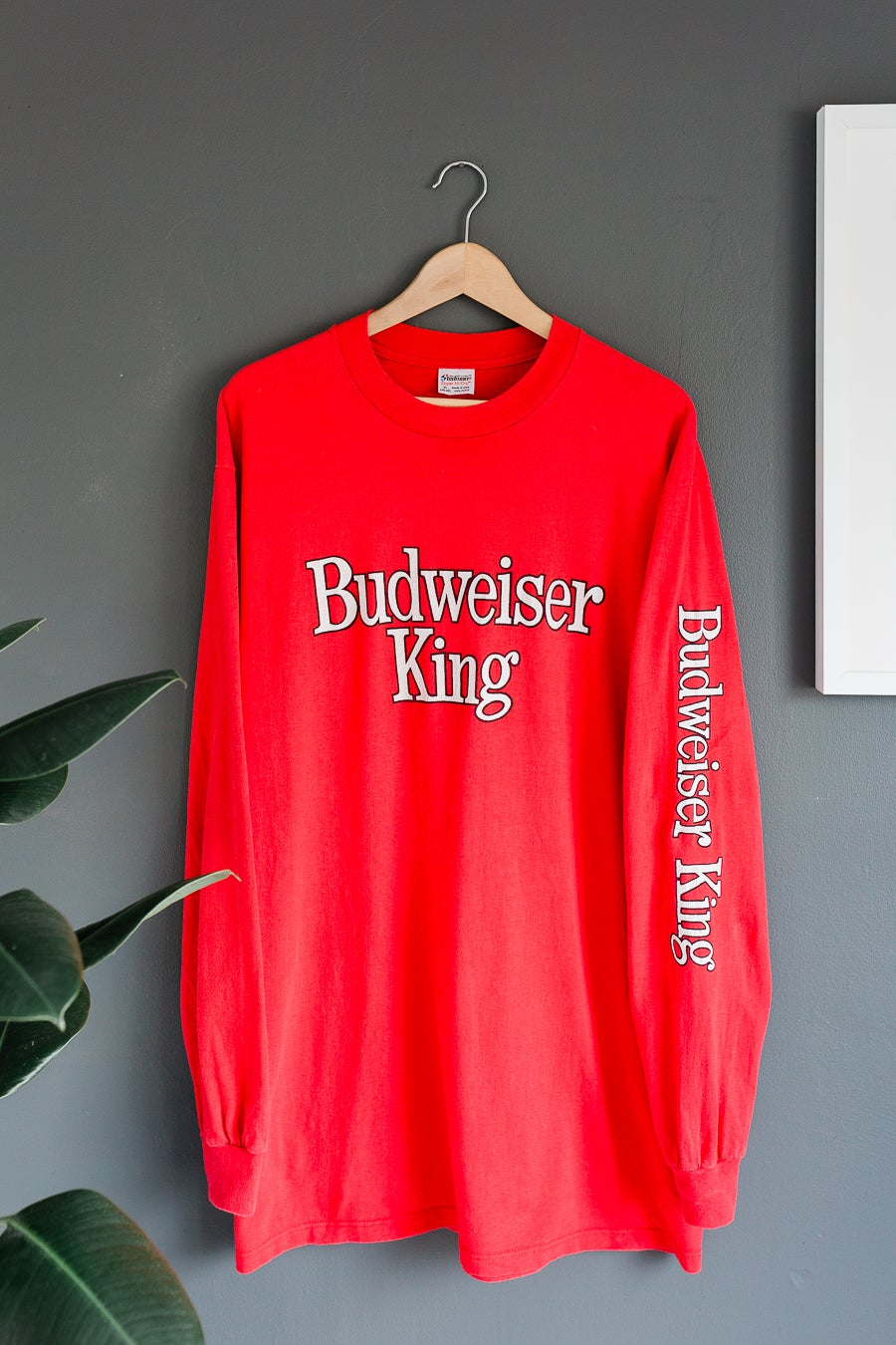 Image of Vintage Budweiser Long Sleeve Shirt
