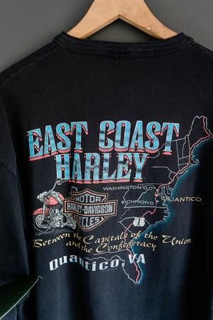 Image of Vintage 90s Harley Davidson East Coast Long Sleeve