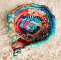 All the Colours of the Rainbow Woven Basket
