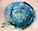 Into the Blue Woven Basket